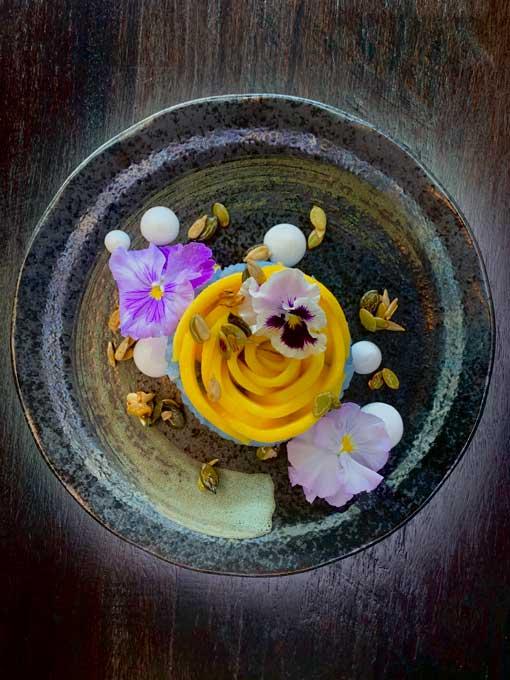 Lotus Flower Dessert